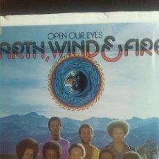 Discos de vinilo: EARTH WIND & FIRE - OPEN OUR EYES. Lote 202587686