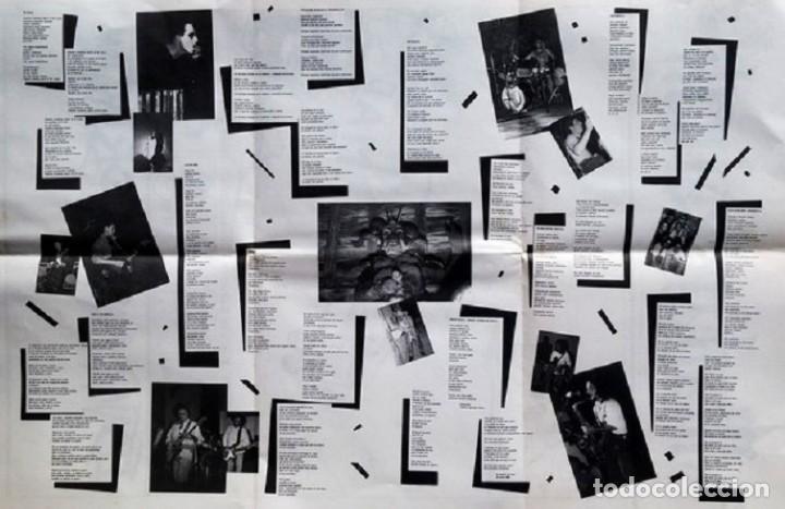 Discos de vinilo: LP ETSAIAN MAKAILUA DESERTUAN - MADARIKATUAK - punk - alternative rock-ORIGINAL 1987 - Foto 3 - 202590645