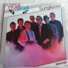 Discos de vinilo: N'GAI N'GAI MAXI SINGLE SUNGLASSES + 2 1986. Lote 202595963