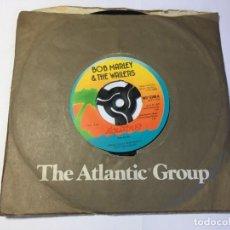 Discos de vinilo: DISCO VINILO SINGLE BOB MARLEY - EXODUS. Lote 202596113