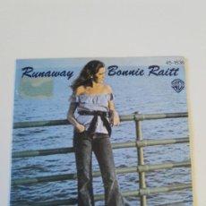 Discos de vinil: BONNIE RAITT RUNAWAY / LOUISE ( 1977 HISPAVOX ESPAÑA ). Lote 202597485