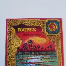 Discos de vinilo: THE POGUES SUMMER IN SIAM / BASTARD LANDLORD ( 1990 WEA UK ). Lote 202601325
