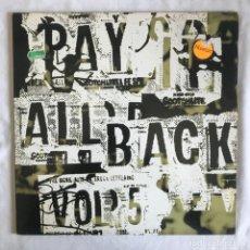 Disques de vinyle: PAY IT ALL BACK VOL. 5 UK 2LP 1995. Lote 202604836
