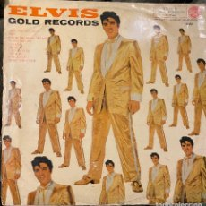 Discos de vinilo: ELVIS PRESLEY - ELVIS' GOLD RECORDS. LP VINILO 1961, ORIGINAL SPAIN.. Lote 202609227