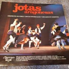 Discos de vinilo: DISCO DE JOTAS ARAGONESAS 1972. Lote 202613951