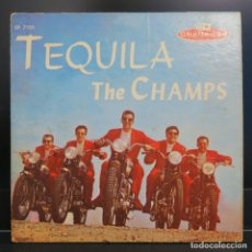 Discos de vinilo: THE CHAMPS EP TEQUILA 1958. Lote 202614245