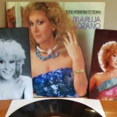 Discos de vinilo: MARUJA LOZANO / ESTÁS PERDIENDO TU TIEMPO / LP-PROMO-MARFER / + 3 FOTOS PROMOCIONALES / MBC. ***/***. Lote 202624760
