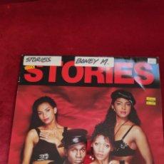 Discos de vinilo: BONEY M - VINILO MAXI - 12 - STORIES. Lote 202628647