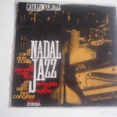 Discos de vinilo: CATALUNYA JAZZ QUARTET NADAL JAZZ EP EDIGSA, C.M. 121 (1965). Lote 202640642