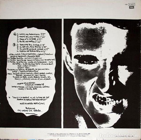 Discos de vinilo: LP RAMONCIN Y W.C. ? - REEDICIÓN 1986 - Foto 2 - 202653191