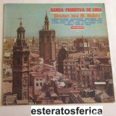 Disques de vinyle: BANDA PRIMITIVA DE LIRIA - JOSÉ M. MALATO - LA VERBENA DE LA PALOMA - SUSPIROS DE ESPAÑA.... 1967. Lote 202655293