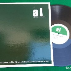 Discos de vinilo: LP THE ALCHEMIST – THE CHEMISTRY FILES: AN INSTRUMENTAL SERIES - GANGSTER THEME MUSIC, AÑO 2000. Lote 202655377