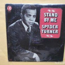 Discos de vinilo: SPYDER TURNER - STAND BY ME. Lote 202659378