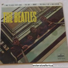 Disques de vinyle: BEATLES EP I WAT TO HOLD YOUR HAND CON ERRATA ED. ESPAÑOLA. Lote 202668465
