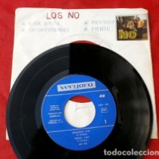 Discos de vinilo: LOS NO (EP. VERGARA 1966) MOSCOVIT (SIN FUNDA BUEN ESTADO) PIENSO - NIÑA DIFICIL - INCOMPRENDIDOS. Lote 202671312