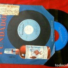 Discos de vinilo: LOS TROPICALES (EP. 1966 FUNDADOR) EXITOS DEL VERANO - VUELO 502 - JUANITA BANANA - BANDA BORRACHA. Lote 202671558