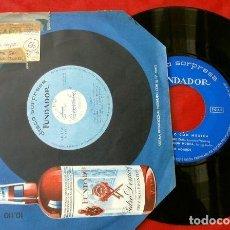 Discos de vinilo: LOS AGAROS (EP. 1966 FUNDADOR) BUFFALO - ANGELITOS NEGROS, SLEEPY TIME GAL - LOS ROCKERS DE EUSKADI. Lote 202671738