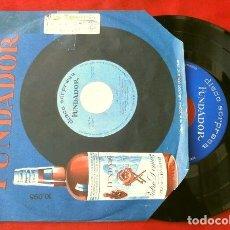 Discos de vinilo: LOS MONDAYS - LOS TRONCOS (EP. 1966 FUNDADOR) EL PELIRROJO - EL COCHECITO - YO SOY AQUEL. Lote 202671898