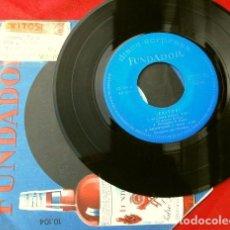 Discos de vinilo: LOS WALDOS (EP. 1966 FUNDADOR) EXITOS - SE LLAMA MARIA - DONWTOWN - TIJUANA - CARTAGENERA. Lote 202672062