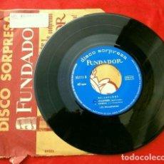 Discos de vinilo: LOS RELAMPAGOS (EP. 1966 FUNDADOR) RELAMPAGOS - ASTER NOVA - DIAMONDS - ESTEPA (ARMENTEROS). Lote 202672226