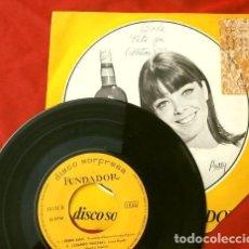 Discos de vinilo: LOS NORTON (EP. 1967 FUNDADOR) LOLA - VETE YA - DESDE ALLI - CUANDO VUELVAS. Lote 202672780