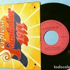 Discos de vinilo: MINA CANTA SUS CREACIONES (EP FUNDADOR 1971) NEL FONDO DEL MIO CUORE - TA RA TA TA -. Lote 202676403