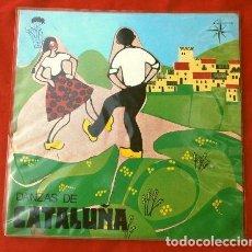 Discos de vinilo: DANZAS DE CATALUÑA (EP. 1971) COBLA BARCELONA DIR. MANUEL OLTRA - EL BAILE DE CERCOLETS - VILANOVA. Lote 202681821