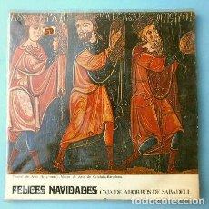 Discos de vinilo: FELICES NAVIDADES (EP. NAVIDAD 1969) LOLA FLORES - ANTOÑITA MORENO - AMALIA GRANADA - CORO -SABADELL. Lote 202684876