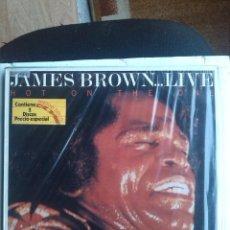 Discos de vinilo: JAMES BROWN - HOT ON THE ONE LIVE 2 LPS. Lote 202687352