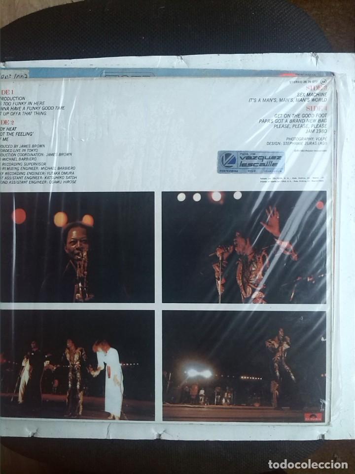 Discos de vinilo: JAMES BROWN - HOT ON THE ONE LIVE 2 LPS - Foto 2 - 202687352