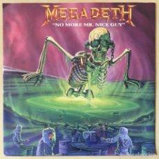 Discos de vinilo: MEGADETH – NO MORE MR. NICE GUY, UK 1989 SBK RECORDS. Lote 202695931