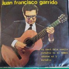 Discos de vinilo: JUAN FRANCISCO GARRIDO: EL CANT DELS OCELLS,ESTUDIO EN SI B + 2 BARNAFON BN45212 1968. Lote 202696201