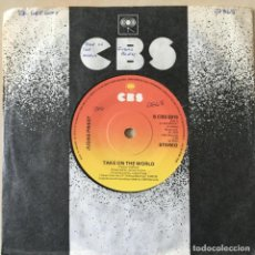 Disques de vinyle: JUDAS PRIEST – TAKE ON THE WORLD, 1979. Lote 202697573