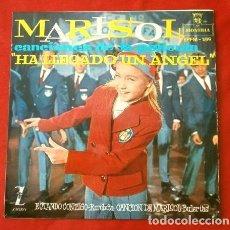 Discos de vinilo: MARISOL (EP. 1961) BSO DEL FILM: HA LLEGADO UN ANGEL - ESTANDO CONTIGO - BULERIAS - A. ALGUERO. Lote 202698702
