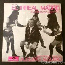 Discos de vinilo: EL IRREAL MADRID (EP. 1969 RARO) BSO PROGRAMA DE TVE TELEVISION ESPAÑOLA - A. ALGUERO - V. LAZAROV. Lote 202699192