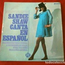 Discos de vinilo: SANDIE SHAW EN ESPAÑOL (EP. EUROVISION 1967) MARIONETAS EN LA CUERDA (1º PREMIO INGLETERRA). Lote 202699998