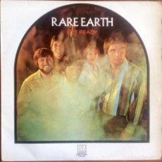 Discos de vinilo: RARE EARTH - GET READY. Lote 202700792