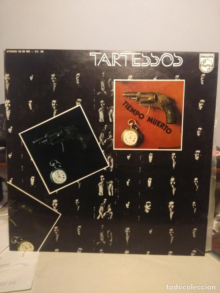 LP TARTESSOS : TIEMPO MUERTO (EXCELENTE POP ROCK ESPAÑOL DE LOS 70) (Música - Discos - LP Vinilo - Grupos Españoles de los 70 y 80)