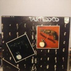 Discos de vinilo: LP TARTESSOS : TIEMPO MUERTO (EXCELENTE POP ROCK ESPAÑOL DE LOS 70). Lote 202701407