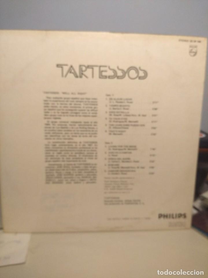 Discos de vinilo: LP TARTESSOS : TIEMPO MUERTO (EXCELENTE POP ROCK ESPAÑOL DE LOS 70) - Foto 2 - 202701407