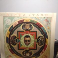 Discos de vinilo: LP RINGO STARR : TIME TAKES TIME (CON JEFF LYNNE, TOM PETTY, JELLYFISH & HARRY NILSSON ). Lote 202707105