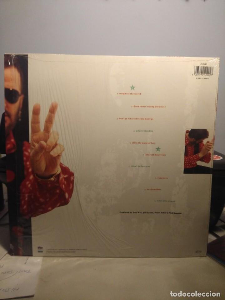 Discos de vinilo: LP RINGO STARR : TIME TAKES TIME (CON JEFF LYNNE, TOM PETTY, JELLYFISH & HARRY NILSSON ) - Foto 2 - 202707105