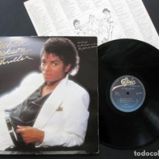 Discos de vinilo: MICHAEL JACKSON – THRILLER – VINILO 1982. Lote 202712841