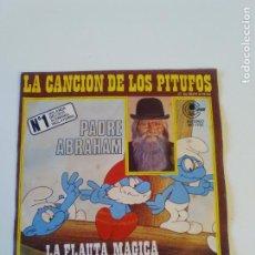 Discos de vinilo: PADRE ABRAHAM CANCION DE LOS PITUFOS / FLAUTA MAGICA (1978 CARNABY ESPAÑA ). Lote 202714461