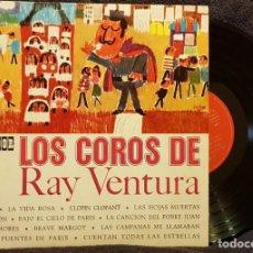 Discos de vinilo: EPS - LOS COROS DE RAY VENTURA. Lote 202714787