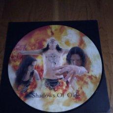 Discos de vinilo: VINILO AETERNUS – SHADOWS OF OLD. BLACK METAL. ORIGINAL 1999.. Lote 202724345