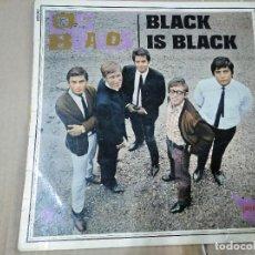 Discos de vinilo: LOS BRAVOS - LP - BLACK IS BLACK . FRANCIA. Lote 202727817