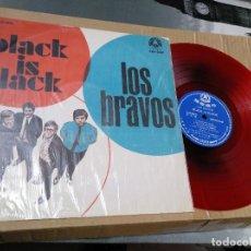 Discos de vinilo: LOS BRAVOS - BLACK IS BLACK - LP - VINILO ROJO - TAIWAN. Lote 202727921