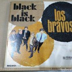 Discos de vinilo: LOS BRAVOS - BLACK IS BLACK - USA 1966. Lote 202728313