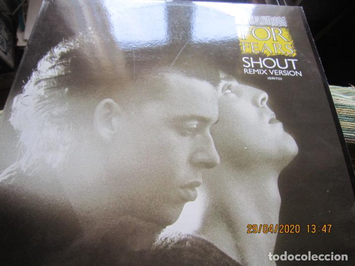 Discos de vinilo: TEARS FOR FEARS - SHOUT REMIX VERSION -45 R.P.M. MAXI - ORIGINAL MERCURY 1984 MUY NUEVO (5) - Foto 6 - 202744283